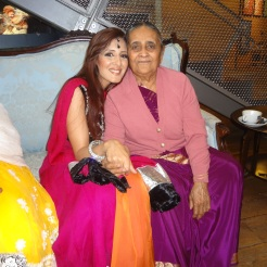 Sejal with her grandmother