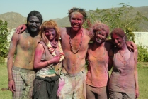Holi fun in Pushkar