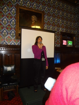Labour MP Seema Malhotra hosting the event