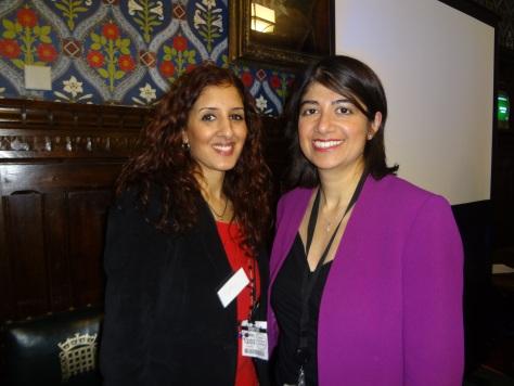 With Seema Malhotra