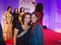 Me with the gorgeous Riz
