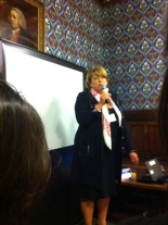 Shadow Minister for Women and Equalities Janet Cooper